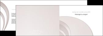 modele en ligne depliant 2 volets  4 pages  web design texture contexture structure MLGI92429