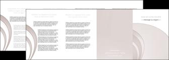 imprimer depliant 4 volets  8 pages  web design texture contexture structure MLGI92447