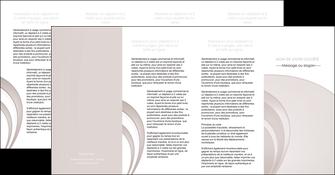 faire depliant 4 volets  8 pages  web design texture contexture structure MLGI92451