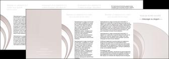 modele en ligne depliant 4 volets  8 pages  web design texture contexture structure MLGI92453