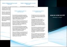 imprimerie depliant 3 volets  6 pages  web design texture contexture structure MLGI92793