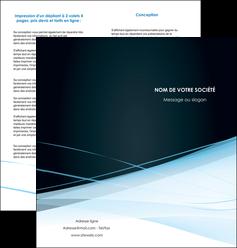 imprimer depliant 2 volets  4 pages  web design texture contexture structure MLGI92795