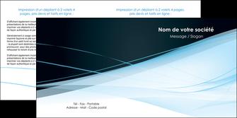 imprimerie depliant 2 volets  4 pages  web design texture contexture structure MLGI92797