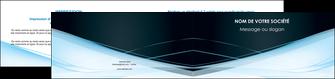 cree depliant 2 volets  4 pages  web design texture contexture structure MLGI92803