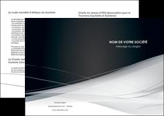 creer modele en ligne depliant 2 volets  4 pages  web design texture contexture structure MLGI92825