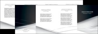 impression depliant 4 volets  8 pages  web design texture contexture structure MLIG92861