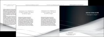 faire depliant 4 volets  8 pages  web design texture contexture structure MLIG92867