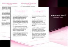 exemple depliant 3 volets  6 pages  web design texture contexture structure MLGI92897