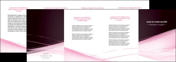 impression depliant 4 volets  8 pages  web design texture contexture structure MLGI92913