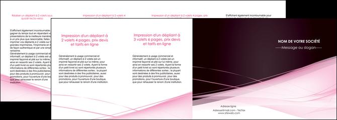 modele en ligne depliant 4 volets  8 pages  web design texture contexture structure MLGI92919