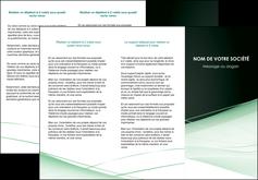 faire depliant 3 volets  6 pages  web design texture contexture structure MLGI92949