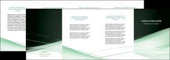 personnaliser maquette depliant 4 volets  8 pages  web design texture contexture structure MLGI92965