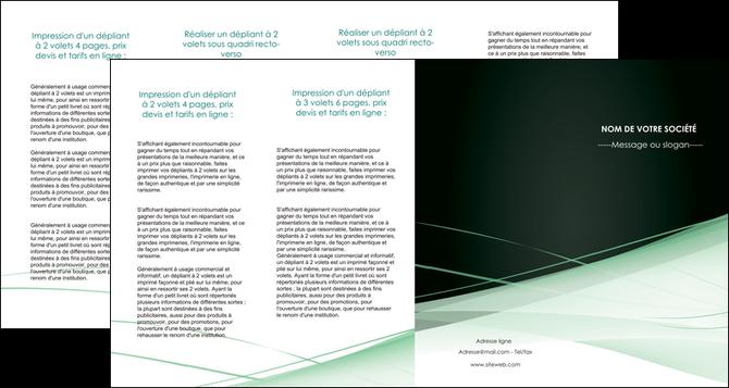 creer modele en ligne depliant 4 volets  8 pages  web design texture contexture structure MLGI92969