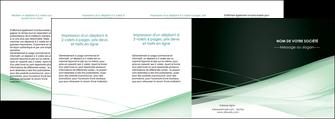 faire depliant 4 volets  8 pages  web design texture contexture structure MLGI92971