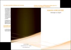 personnaliser modele de depliant 2 volets  4 pages  web design texture contexture structure MLGI92981