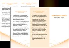 exemple depliant 3 volets  6 pages  web design texture contexture structure MID93001