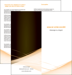 imprimer depliant 2 volets  4 pages  web design texture contexture structure MID93003