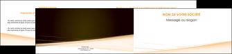 exemple depliant 2 volets  4 pages  web design texture contexture structure MID93011