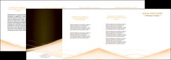 modele depliant 4 volets  8 pages  web design texture contexture structure MLGI93017