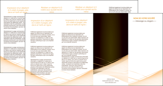 faire depliant 4 volets  8 pages  web design texture contexture structure MLGI93021