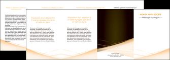 imprimer depliant 4 volets  8 pages  web design texture contexture structure MID93023