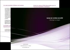 cree depliant 2 volets  4 pages  reseaux texture contexture structure MLGI93057