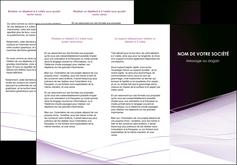 modele en ligne depliant 3 volets  6 pages  reseaux texture contexture structure MLGI93077