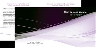 creer modele en ligne depliant 2 volets  4 pages  reseaux texture contexture structure MLGI93081