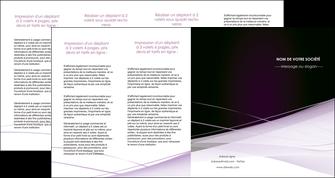 personnaliser modele de depliant 4 volets  8 pages  reseaux texture contexture structure MLGI93097