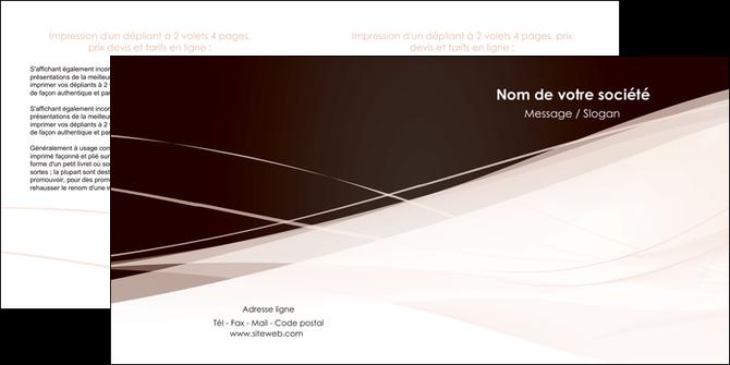 imprimer depliant 2 volets  4 pages  web design texture contexture structure MLGI93471