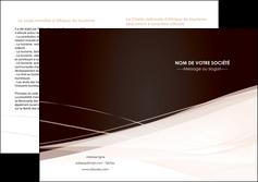 realiser depliant 2 volets  4 pages  web design texture contexture structure MLGI93481
