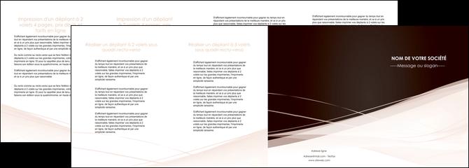 faire depliant 4 volets  8 pages  web design texture contexture structure MLGI93485