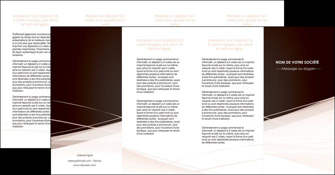 personnaliser modele de depliant 4 volets  8 pages  web design texture contexture structure MLGI93489