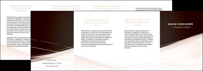 personnaliser modele de depliant 4 volets  8 pages  web design texture contexture structure MLGI93491