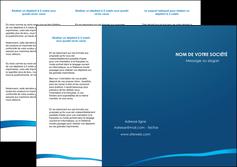 exemple depliant 3 volets  6 pages  web design texture contexture structure MLGI93501