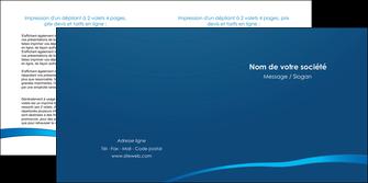 faire depliant 2 volets  4 pages  web design texture contexture structure MLGI93505