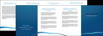 modele depliant 4 volets  8 pages  web design texture contexture structure MLGI93537