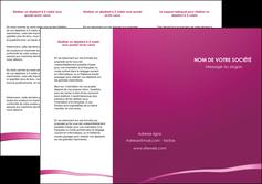 creer modele en ligne depliant 3 volets  6 pages  web design texture contexture structure MIS93605