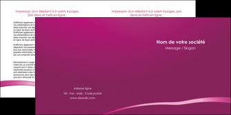 faire modele a imprimer depliant 2 volets  4 pages  web design texture contexture structure MIS93609