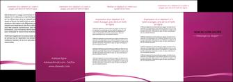 cree depliant 4 volets  8 pages  web design texture contexture structure MIS93641