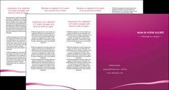faire modele a imprimer depliant 4 volets  8 pages  web design texture contexture structure MIS93645