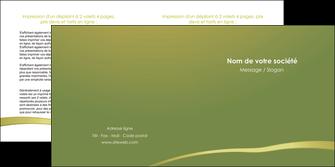imprimerie depliant 2 volets  4 pages  web design texture contexture structure MLGI93661