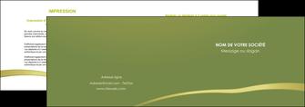 maquette en ligne a personnaliser depliant 2 volets  4 pages  web design texture contexture structure MLGI93675
