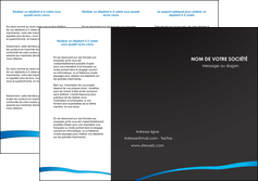 modele depliant 3 volets  6 pages  web design texture contexture structure MLGI93721