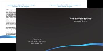 creer modele en ligne depliant 2 volets  4 pages  web design texture contexture structure MLGI93725