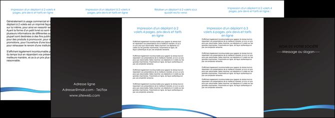 impression depliant 4 volets  8 pages  web design texture contexture structure MLGI93757