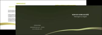 realiser depliant 2 volets  4 pages  web design texture contexture structure MLGI93895