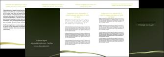 impression depliant 4 volets  8 pages  web design texture contexture structure MLGI93913
