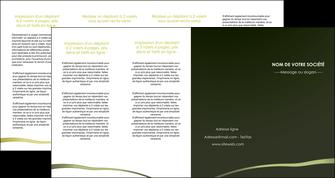 cree depliant 4 volets  8 pages  web design texture contexture structure MLGI93917