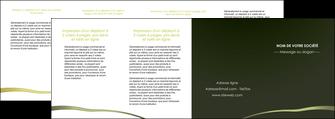 faire modele a imprimer depliant 4 volets  8 pages  web design texture contexture structure MLGI93919